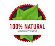 100-Natural-Organic-Product-Vector